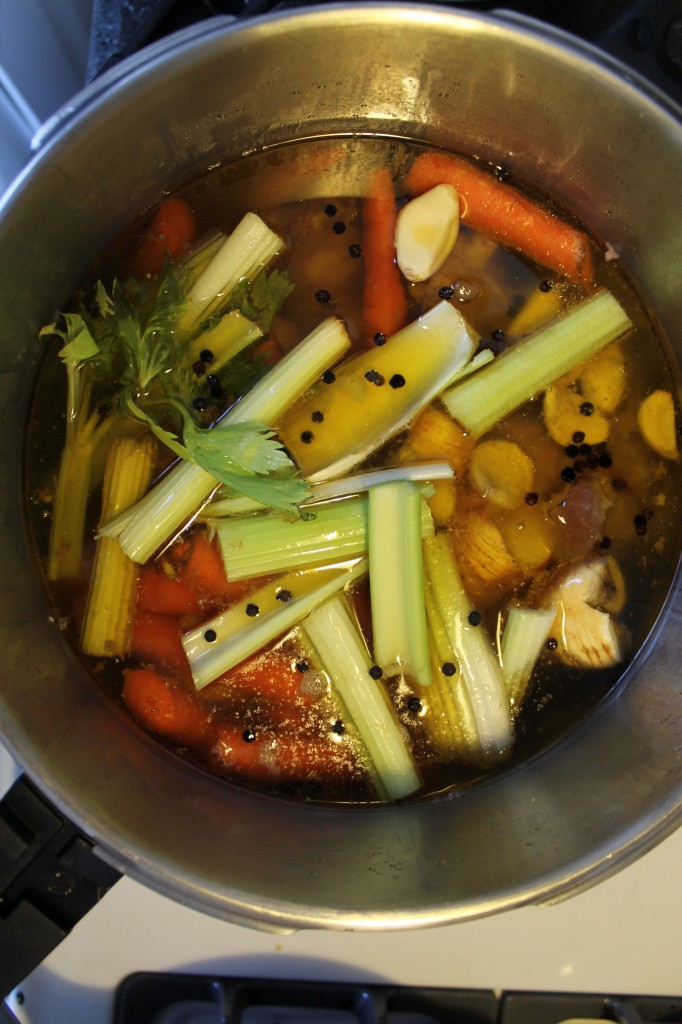 how i make bone broth