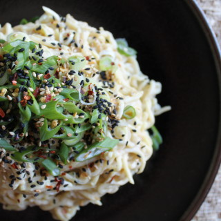 The Zenbelly Cookbook Sneak Peek: sesame zucchini noodles