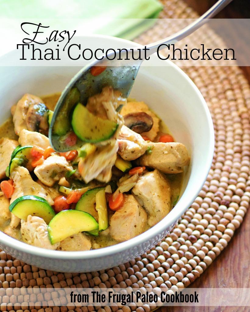 Easy Thai Coconut Chicken