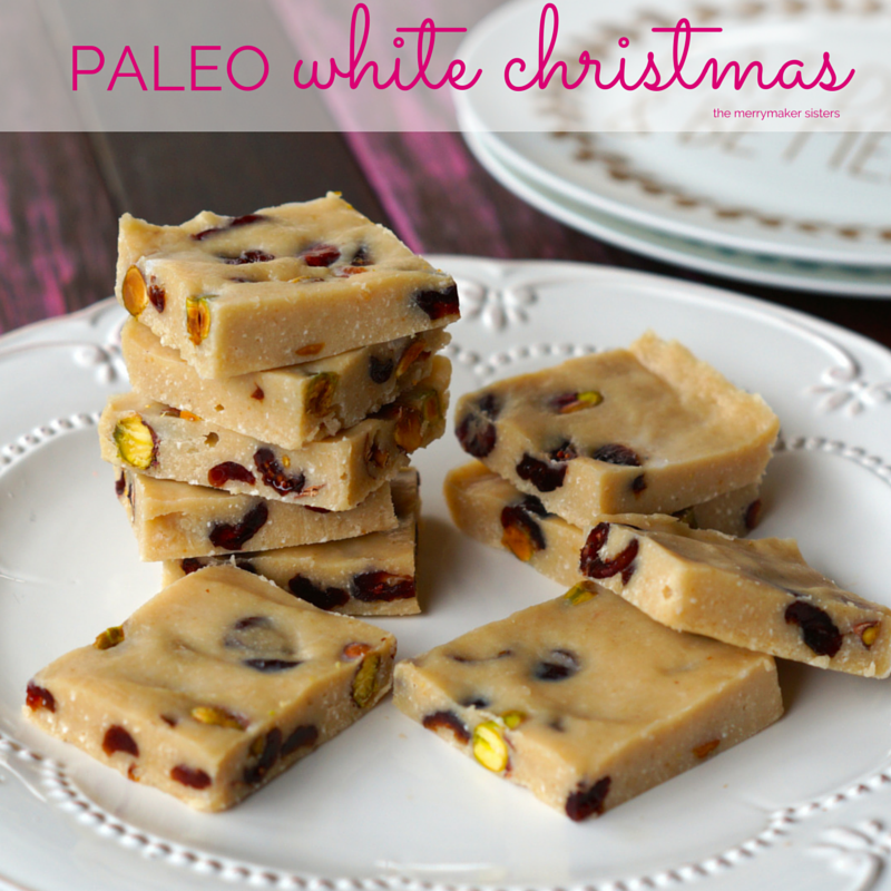 paleo white chocolate bark