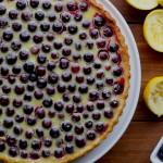 blueberry lemon tart