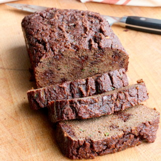 Grain-Free Chocolate Zucchini Bread from Down South Paleo