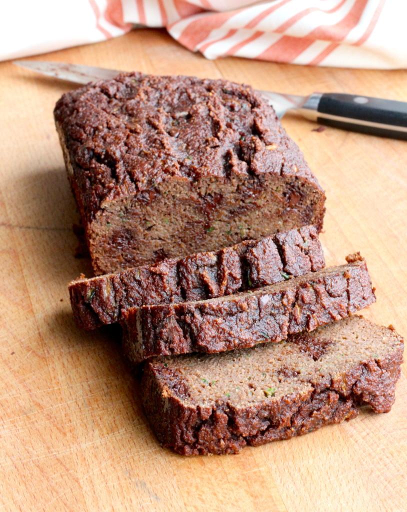 DSP chocolate zucchini bread