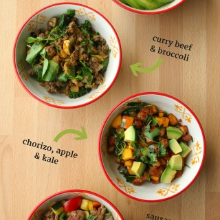 Egg-Free Paleo Breakfast Bowls