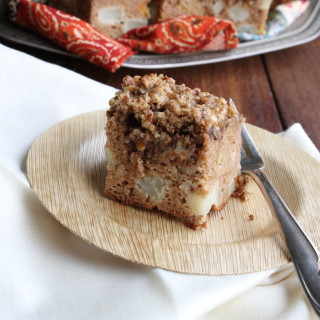 Pear-Pecan Coffee Cake