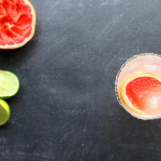 Fresh Grapefruit Paloma