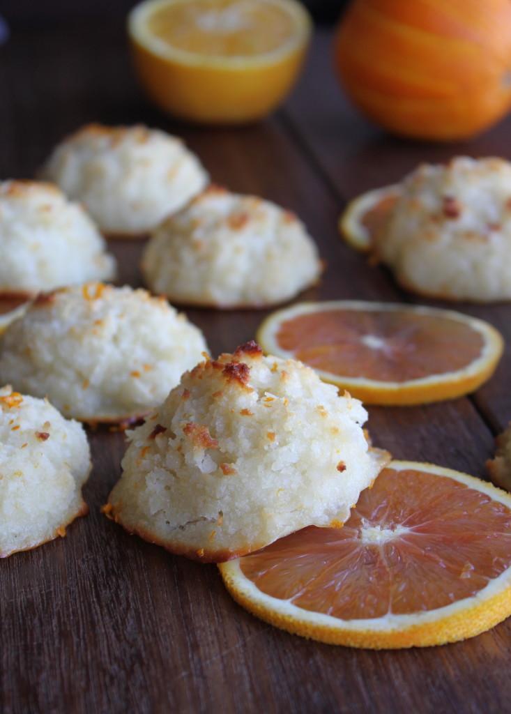 creamsicle macaroons
