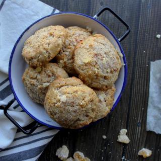 cinnamon ginger scones