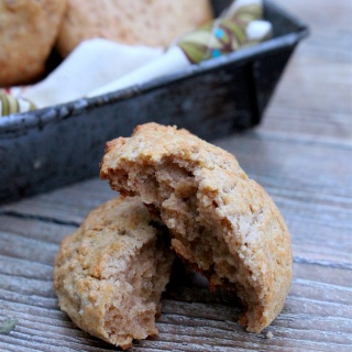 Cinnamon-Ginger Scones (grain-free, nut-free)