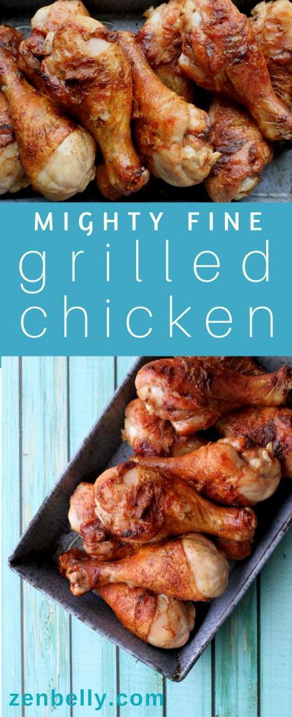 mighty fine grilled chicken