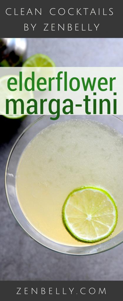 elderflower marga-tini